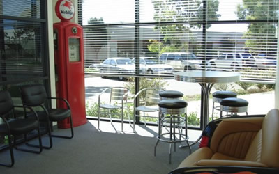 Customer Lounge at Camarillo Auto Body